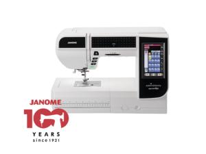 ジャノメ 刺しゅうユニット付コンピューターミシン 100周年記念モデル ジャノメ ハイパークラフト850